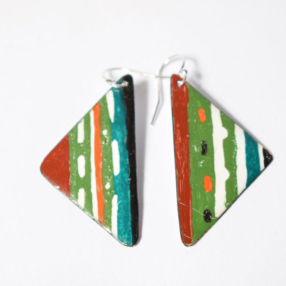 Boucles émail peint-pièces fait main-émaux-artisanat-art-Moissac-occitanie-créateurs-4mains