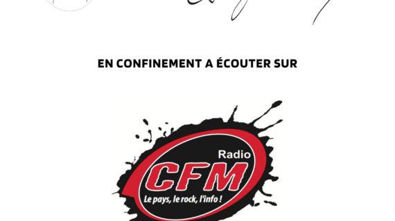 Interviewée à CFM Radio!