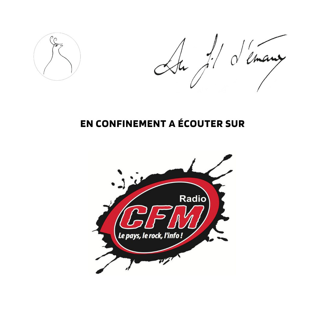Interviewée à CFM Radio!