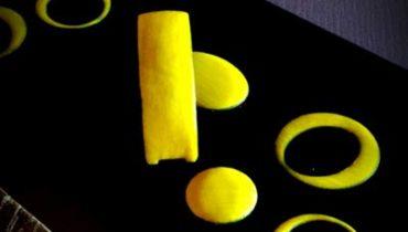 Jaunes citrons en préparation