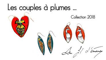 """""""Les couples à plumes"""", la 1ère collection 2018"""