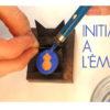 Découvrir l'émail, art du feun et fabriquer son propre bijou en atelier avec un artisan d'art,. Béatrice Perget émailleuse d'art