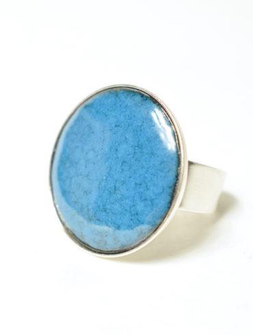aufildemaux-émailleuse d'art-jewel-silver-ring-moissac-tarn et garonne-occitanie