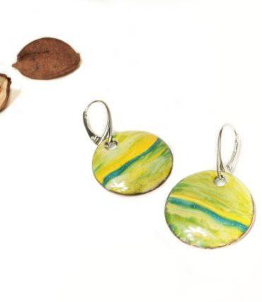 boucles-paysage-jaune-vert-argent-emaux-aufildemaux