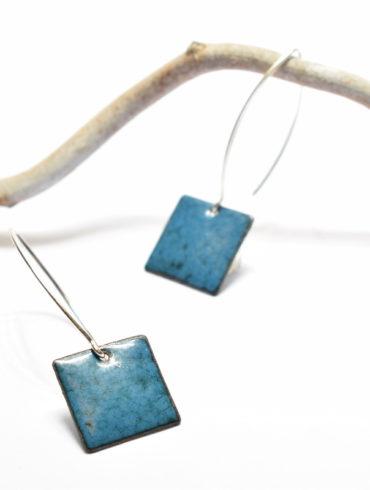 boucles-bleues-contemporaines-tige-longue-argent-massif-emaux-d-art-perget-boutique-aufildemaux-moissac-shop