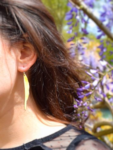 boucles-oreille-feuille-jaune-creation-aufildemaux
